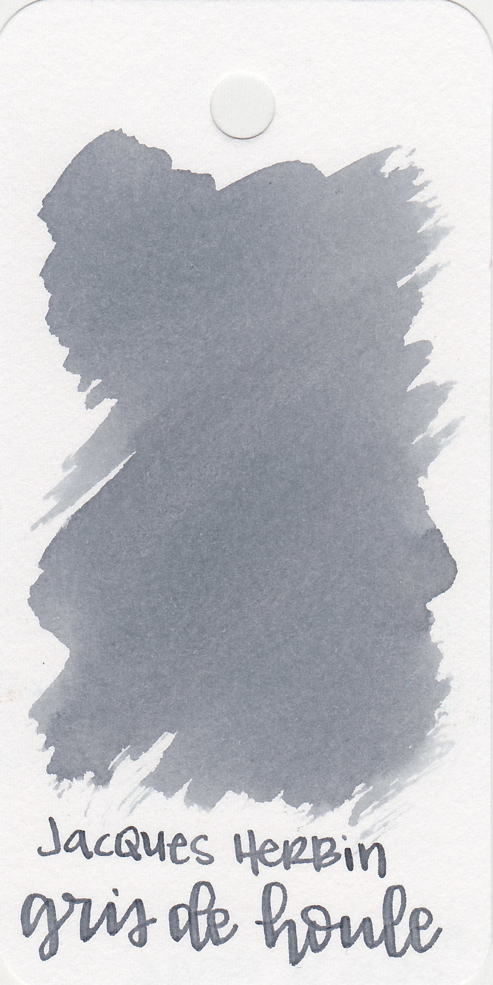 The color: - Gris de Houle is a medium cool grey.