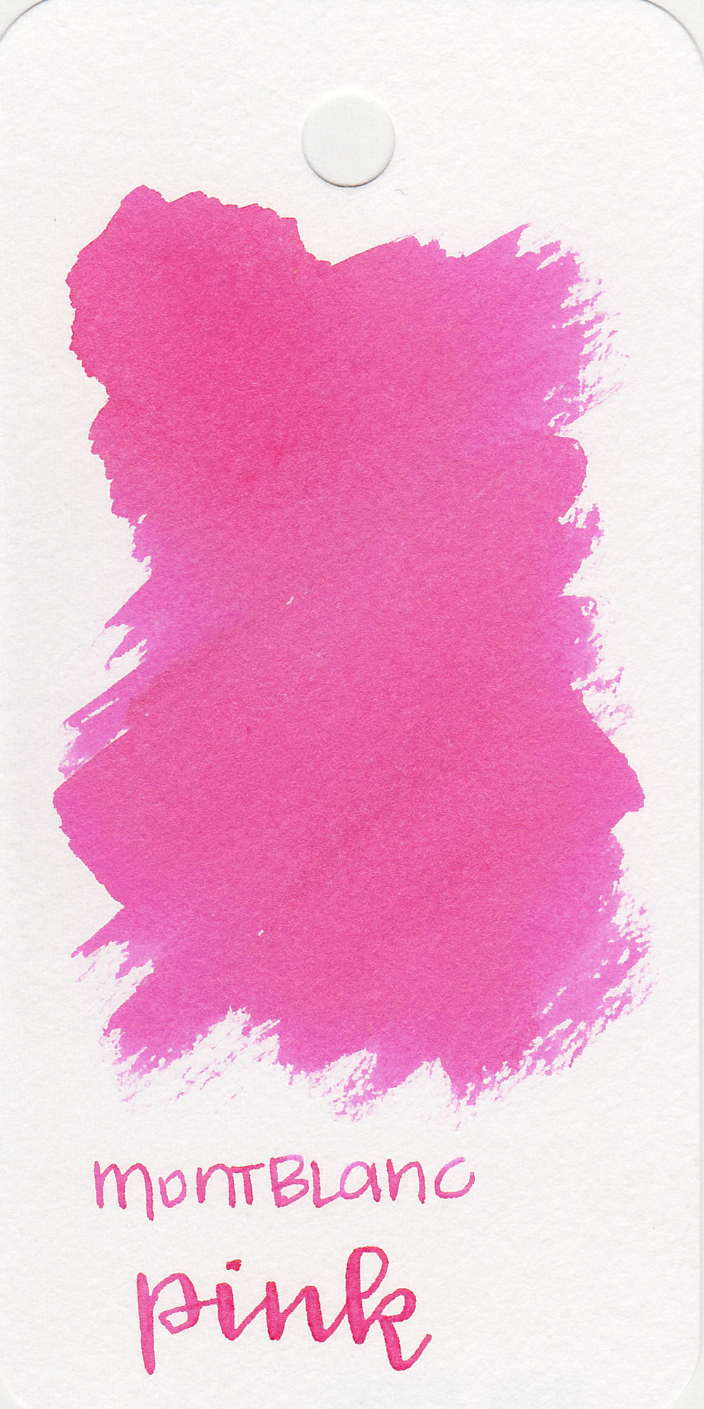 The color: - Pink is a pretty medium pink, almost a bubblegum.