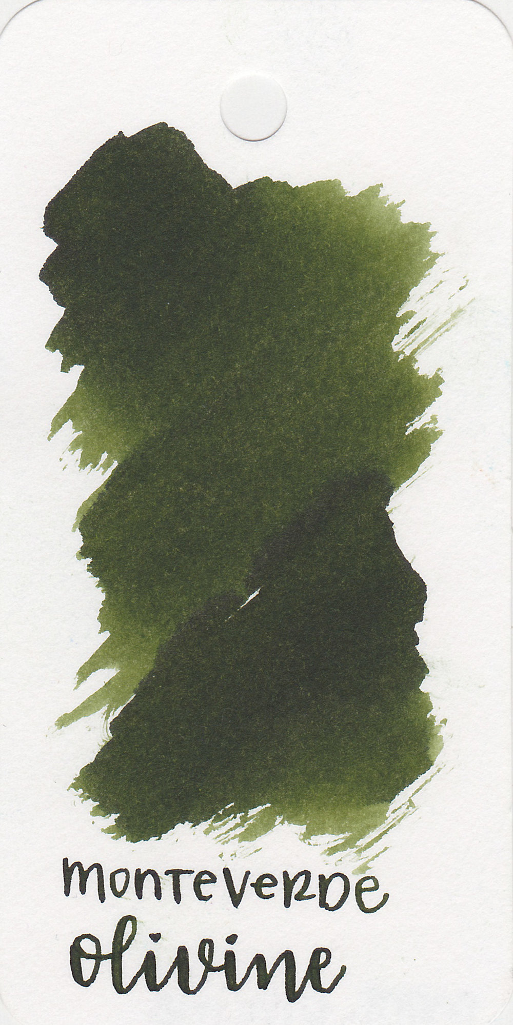 The color: - Olivine is a pretty olive green.