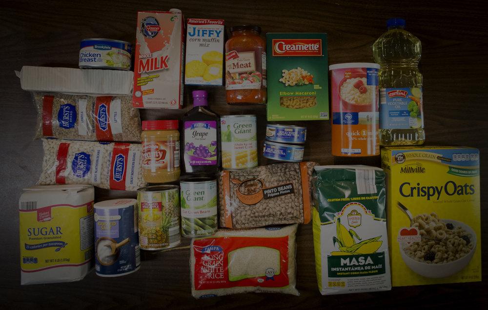 Food Pantry Needs -