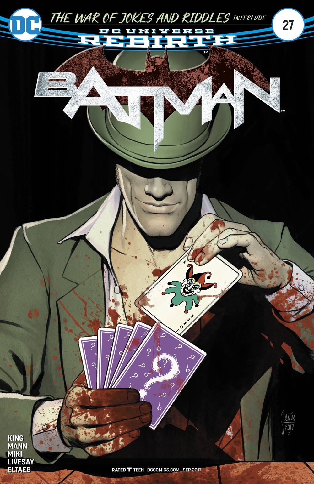 BATMAN #27 - DC COMICSWritten by Tom KingArt by Davide Gianfelice