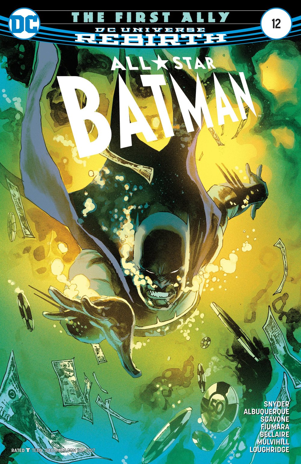 ALL STAR BATMAN #12 - DC COMICSWritten by Scott SnyderArt by Rafael Albuquerque, Sebastian Fiumara