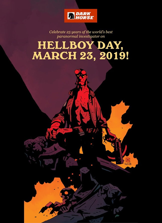 Hellboy Day Cosmic Comix Toys