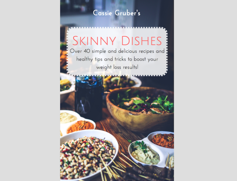 Skinny Dishes - I am a pretty simply person and I like foods that are delicious, healthy, and can be made easily.  The Skinny Dishes cookbook provides you with over 40 simple and delicious recipes that you can make at home.  These are some of my favorite foods that my family and I eat on a daily basis!Give your fat loss and health a major boost and find those breakfasts, dinners, snacks, and desserts that you love and become your go-to favorites! You'll also find tips on eating healthy and a healthy food guide.Click for more information!
