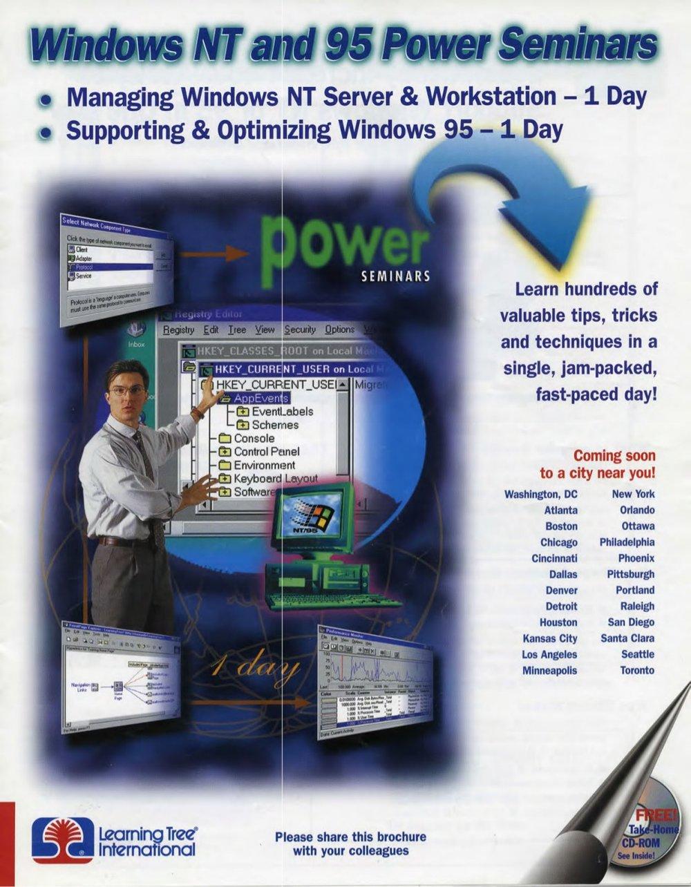 Copywriter – Seminar Brochure