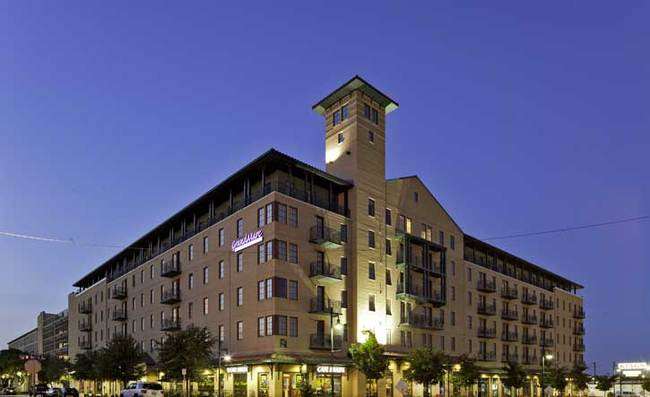 Pictured: EdR's GrandMarc at Westberry Place, a 244-unit student apartment built in 2007.