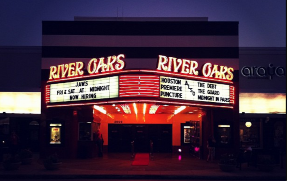 The River Oaks Theatre in Houston. Via Flickr.