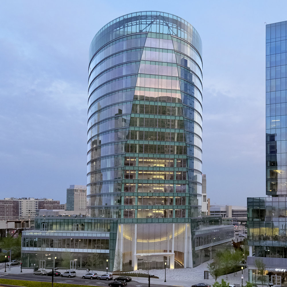 121 Seaport Blvd. in Boston Photo: Norges Bank Real Estate Management