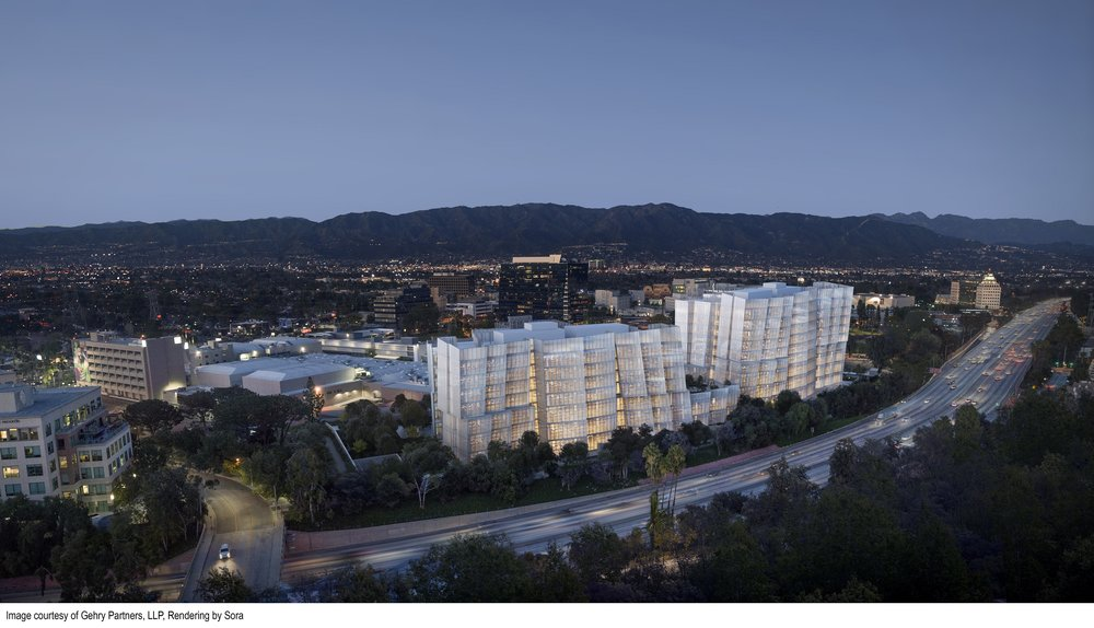 Warner Bros. plans a new office complex called Second Century in Burbank, California.