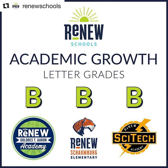 #Repost @renewschools ・・・ The LA Department of Education announced academic growth grades and ReNEW K-8 schools each earned a 'B'! We're incredibly proud of all our hard-working students and teams. 📚