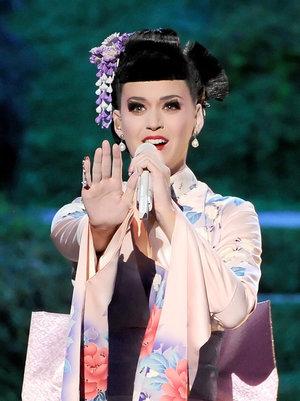 Katy Per ry  american music awards