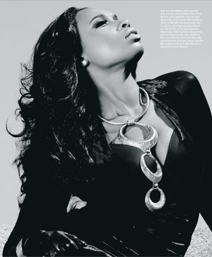 Jennifer Hudson  Angelino magazine