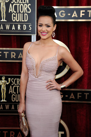 Nathalie Emmanuel   20th annual screen actors guild awards