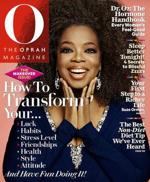 Oprah   cover of o magazine