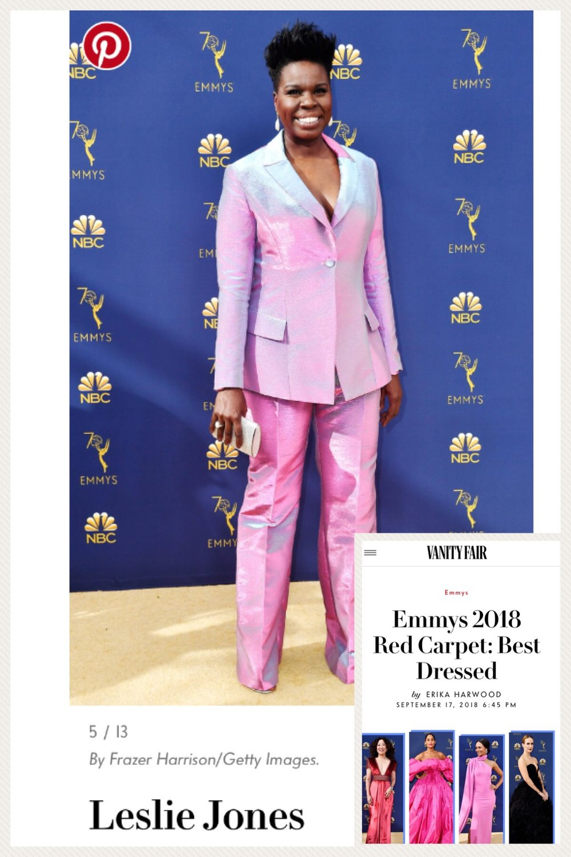 Leslie Jones  2018 EMMY AWARDS
