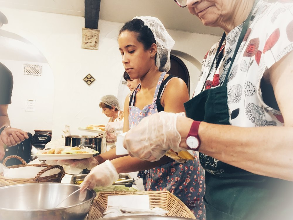 Serving free hot meals - Noon on Thursdays @ St. George's Church (Our kitchen is closed for the rest of the summer but will be back in service on September 6, 2018.)
