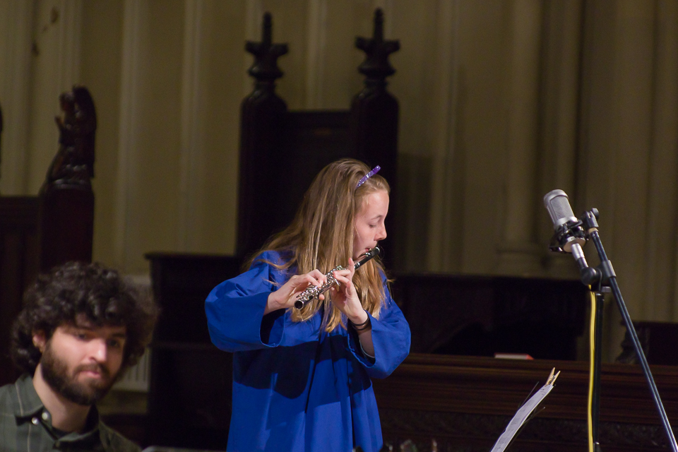 - Participating children will learn music theory, vocal technique, rhythm, ear training and valuable team-building skills. Students will perform at select Sunday services, as well as their own performance in the spring.Rehearsals will take place on Thursdays in Anderson Hall at Calvary Church (61 Gramercy Park N., New York, NY 10010) from 4 - 5pm and 5 - 6pm beginning on January 17th, 2019.