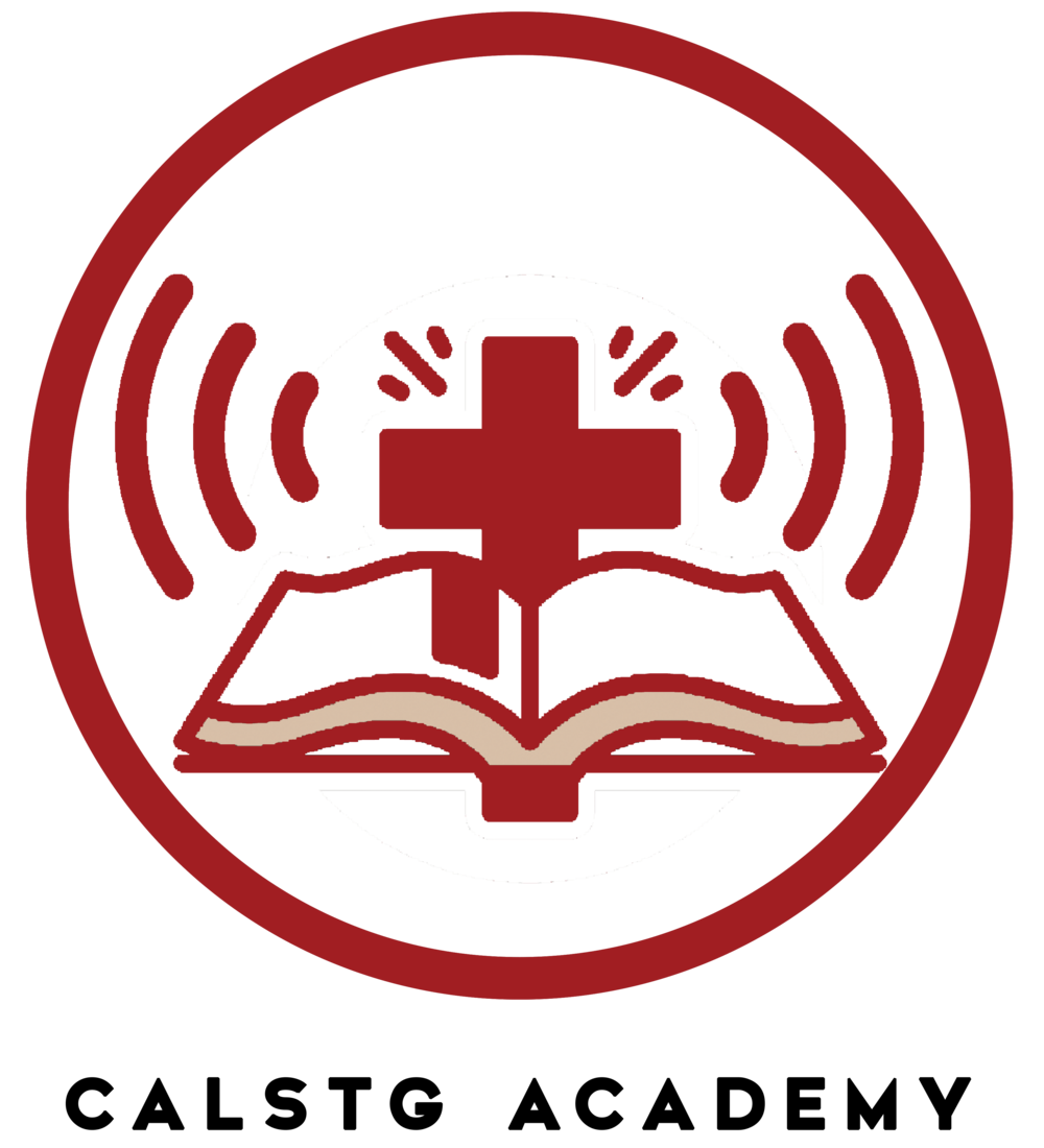Logo_CalStGAcademy Podcast with text RED Version.png