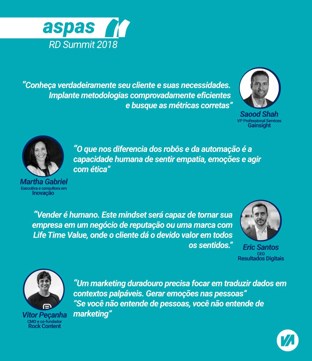 Frases RD Summit - Humanização da Tecnologia