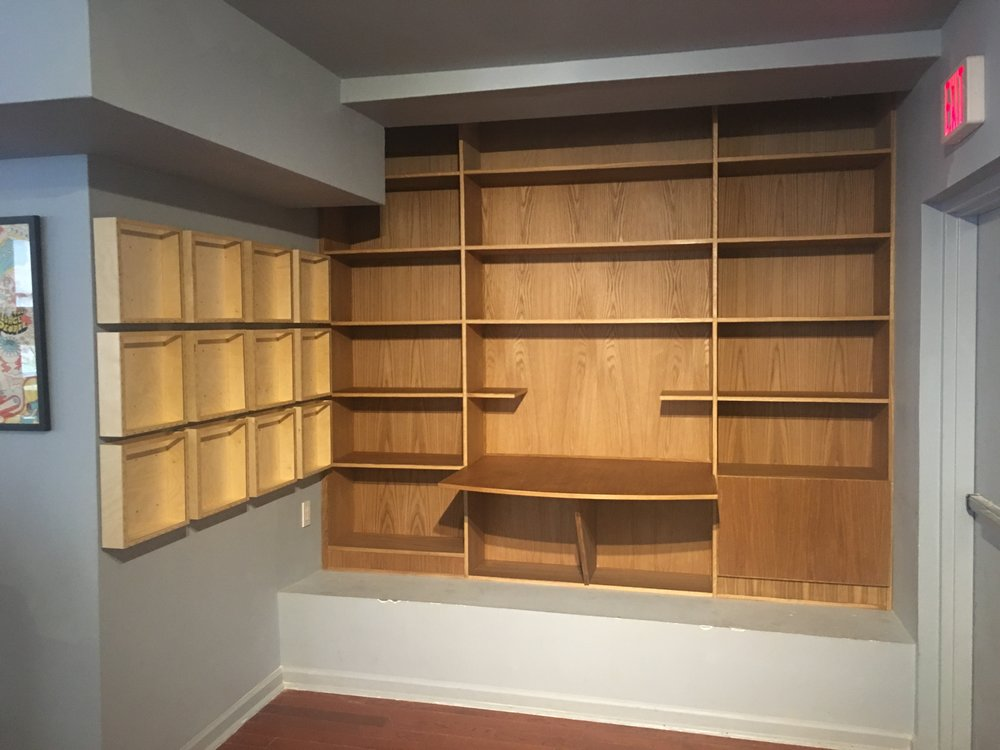 Commercial Record Shelving