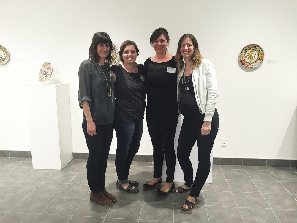 Left to Right; Cathy Terepocki, Carole Epp, Elizabeth Burritt, Jenn Demke-Lange