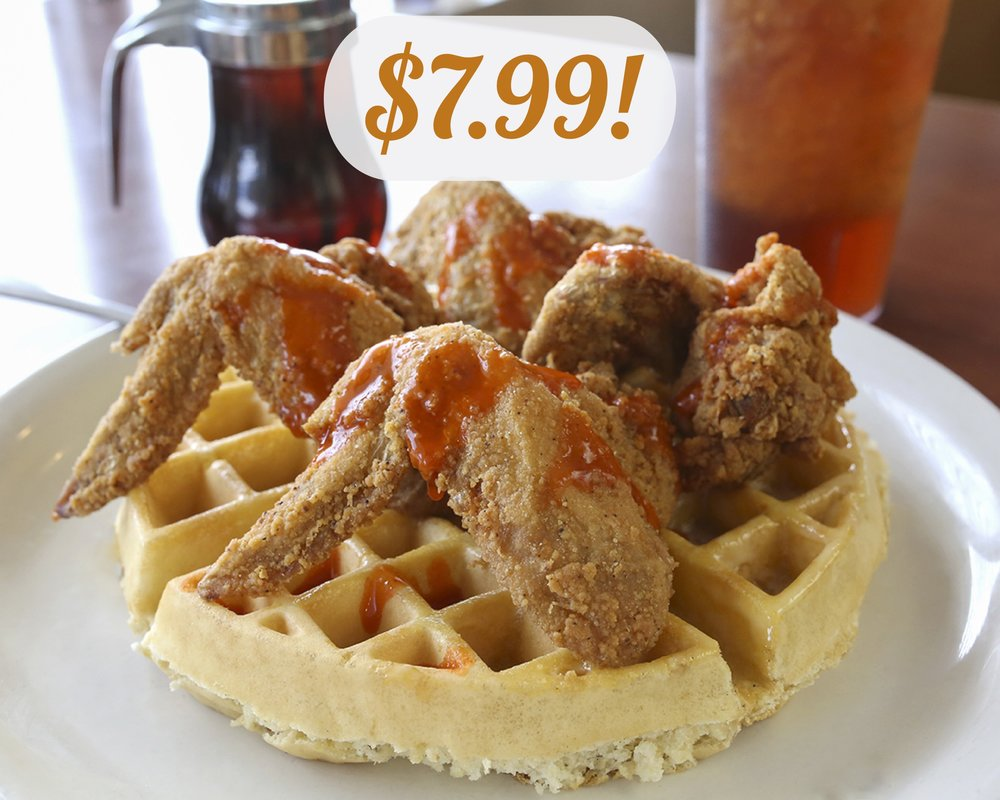 Chicken & Waffles - *During Happy Hour on Wednesdays!
