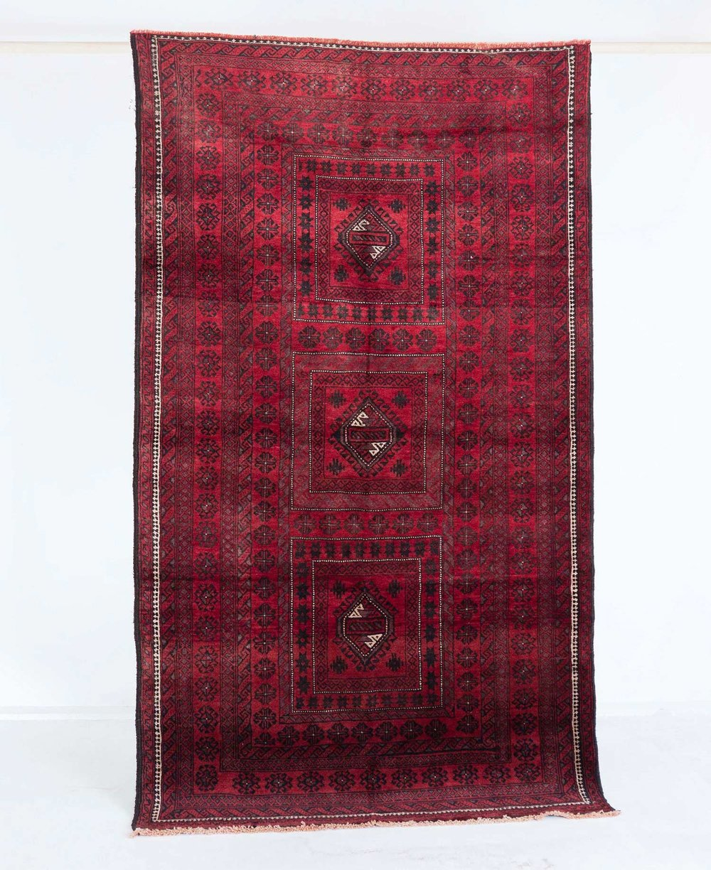 NO. 0092 /   PERSIAN (BALOUCH) / 70 YEARS / 7'1 x 4'0 FT