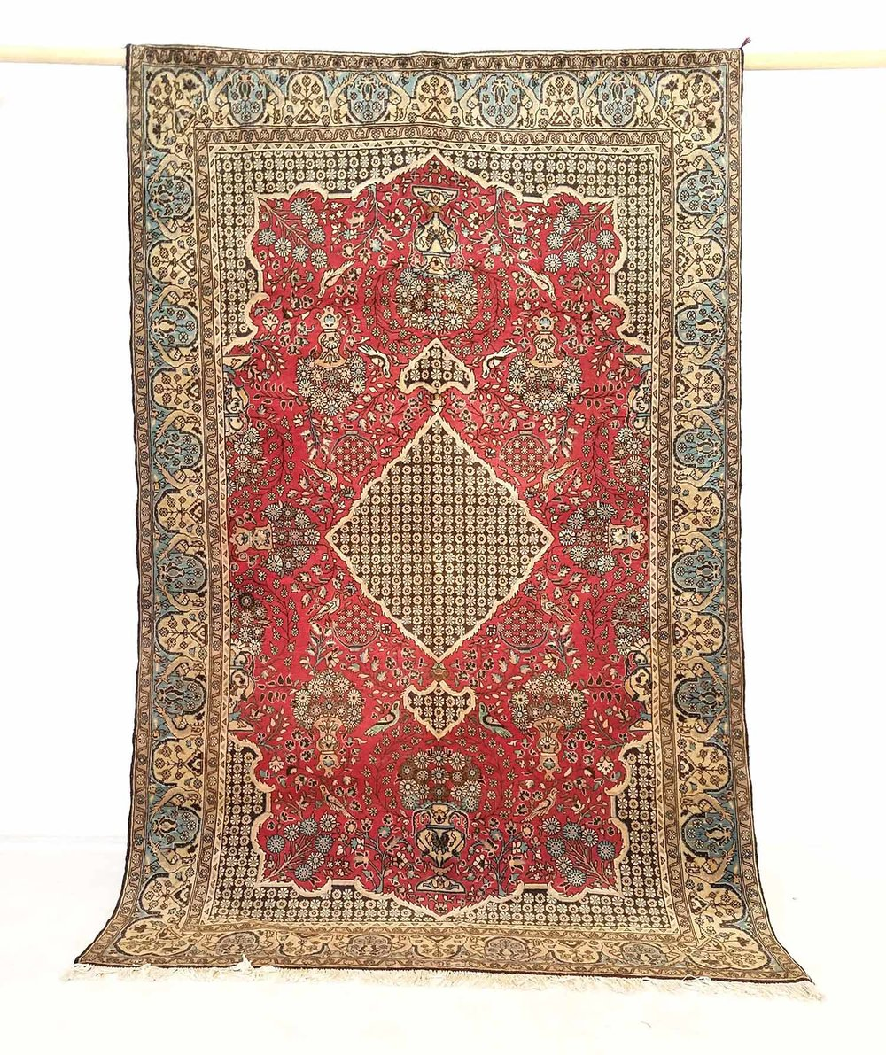 NO. 0198 /   PERSIAN (QUM) / 80 YEARS / 7'0 X 4'5 FT
