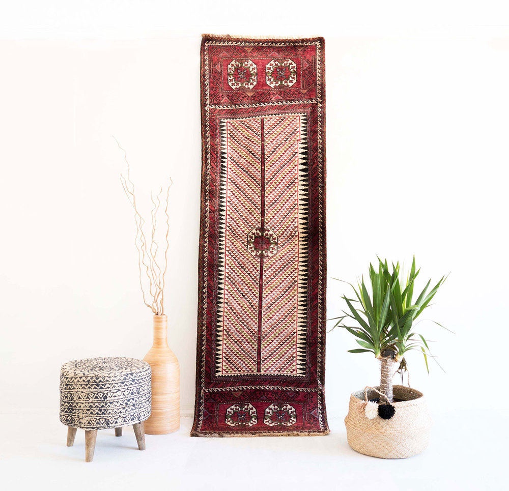 NO. 0033 /   PERSIAN (BALOUCH) / 50 YEARS / 8'7 x 2'6 FT