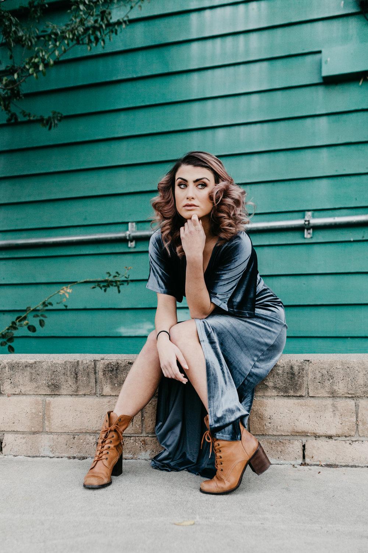 San Luis Obispo California Fashion Photographer Wyldr Dress