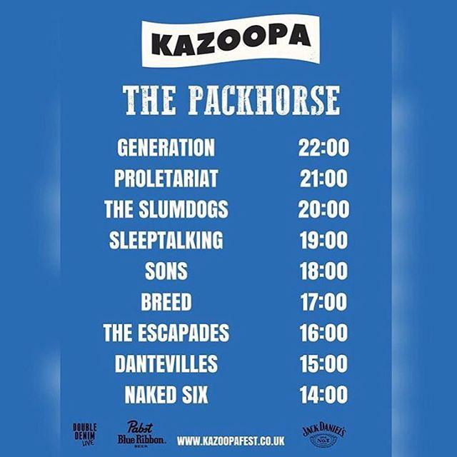 @kazoopafest tonight! #leeds