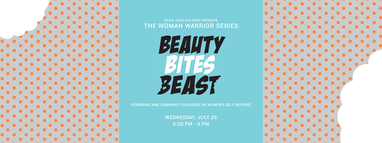 The Woman Warrior Series Beauty Bites Beast Screening Peace Over