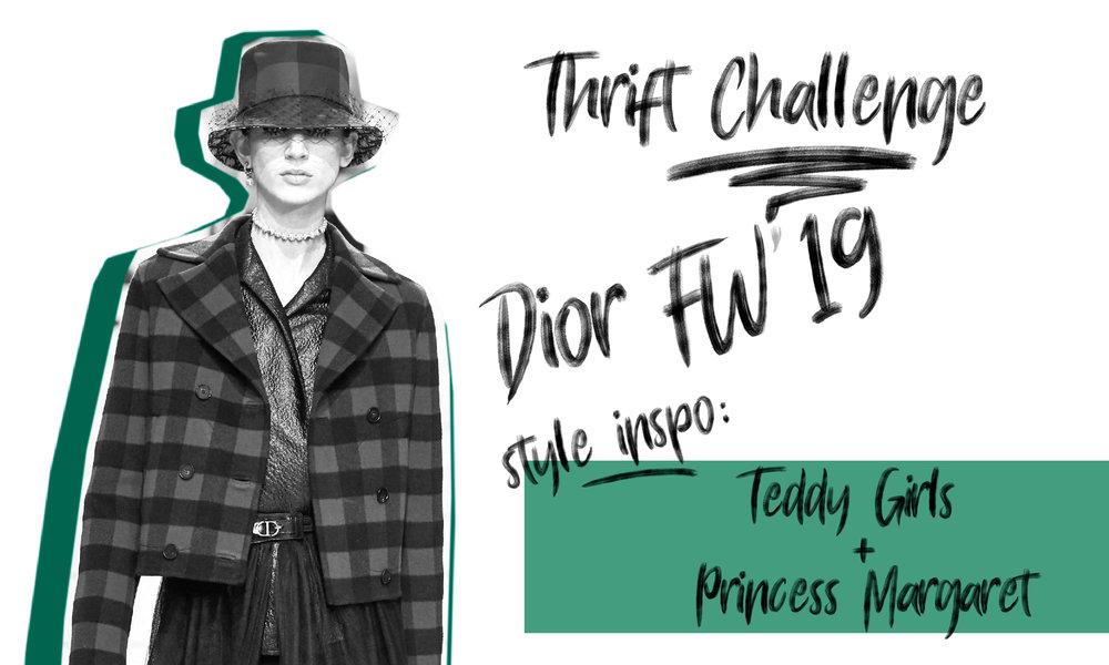 Christian Dior Thrift Challenge