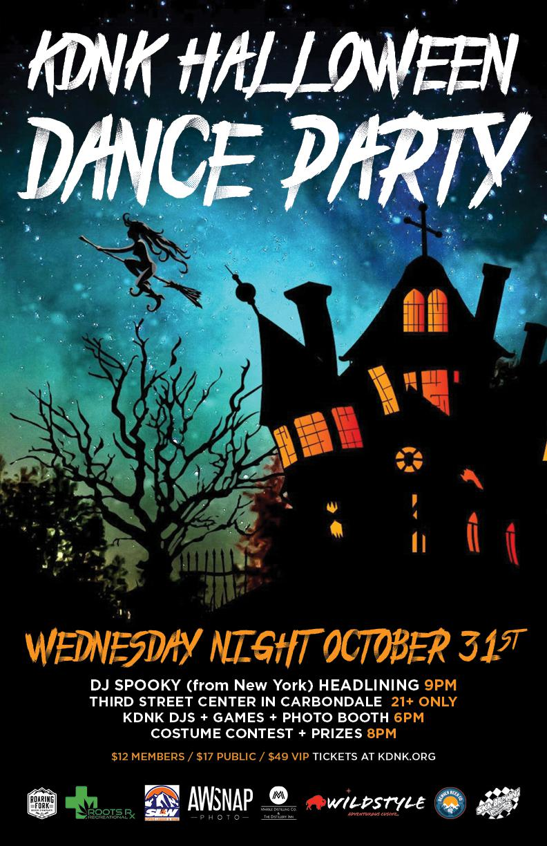 KDNK 2018 Halloween Dance Party