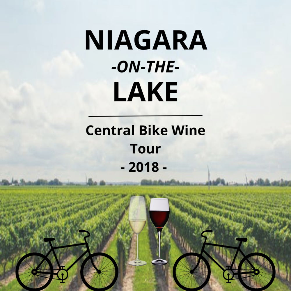$119 FOR AN EXCLUSIVE NIAGARA ON THE LAKE SELF-GUIDED BIKE WINE TOUR FOR 2 PEOPLE -CENTRAL NOTL ROUTE  - Enjoy sipping award winning wine from 3 of the most prestigious Niagara on the Lake Wineries. Whether you are a red or a white wine lover, you will be sure to have your taste buds delighted while you take in the beautiful scenery of Niagara on the Lake.This tour is self-guided. This means that you get to experience Niagara on the Lake without anyone telling you what to do. Because who likes being told that they can't take a little stroll down a back road to do some sight-seeing? Pick up the bike when you want and as long as its back before closing we don't have to know where your adventure took you. Unless you want to tell us about it, of-course!Enjoy 3 select wine samples per person at each of the following wineries:Pondview- 25 Line 2 Rd, Niagara-on-the-Lake, ON L0S 1J0Konzelmann- 1096 Lakeshore Rd, Niagara-on-the-Lake, ON L0S 1J0Nomad at Hinterbrook- 1181 Lakeshore Rd, Niagara-on-the-Lake, ON L0S 1J0Route