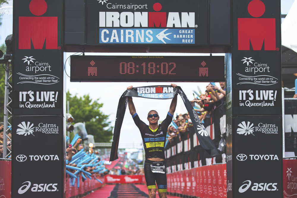 Luke McKenzieProfessional triathlete AND 8x ironman champion -