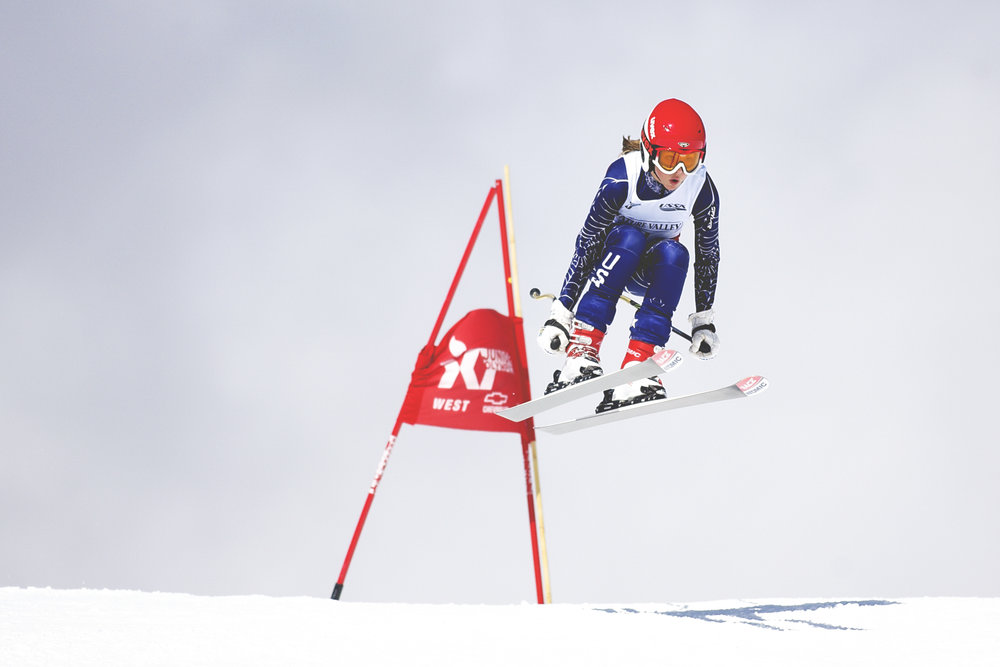 JORDAN SCHWEITZERPROFESSIONAL SKIER CROSS RACER AND JUNIOR NATIONAL CHAMP -