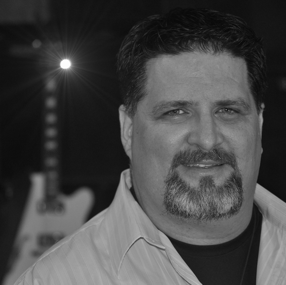 Pastor Randy Williams   Pastor Randy contributes both anointed lead vocals and a powerful rhythm guitar to the team. You'll see him playing a beautiful white Gretsch 5120 guitar through an assortment of Mesa Boogie amps. (Currently his JP 2C +)