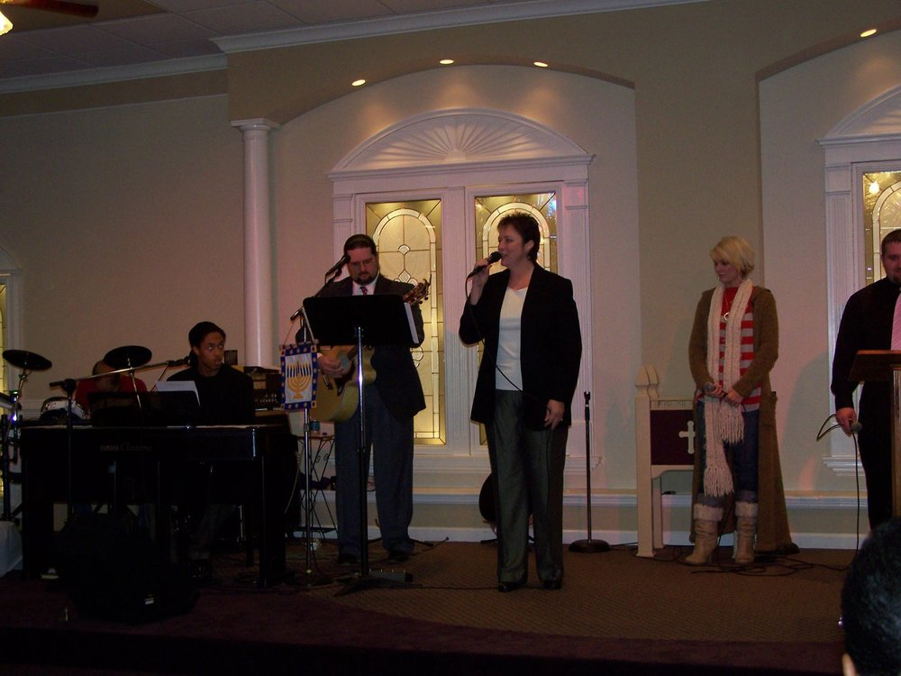 Donna Vitrano   Donna is another backup vocalist for the team, bringing a beautiful mid-high harmony to all we do, though she does lead a song or two from time to time as well.