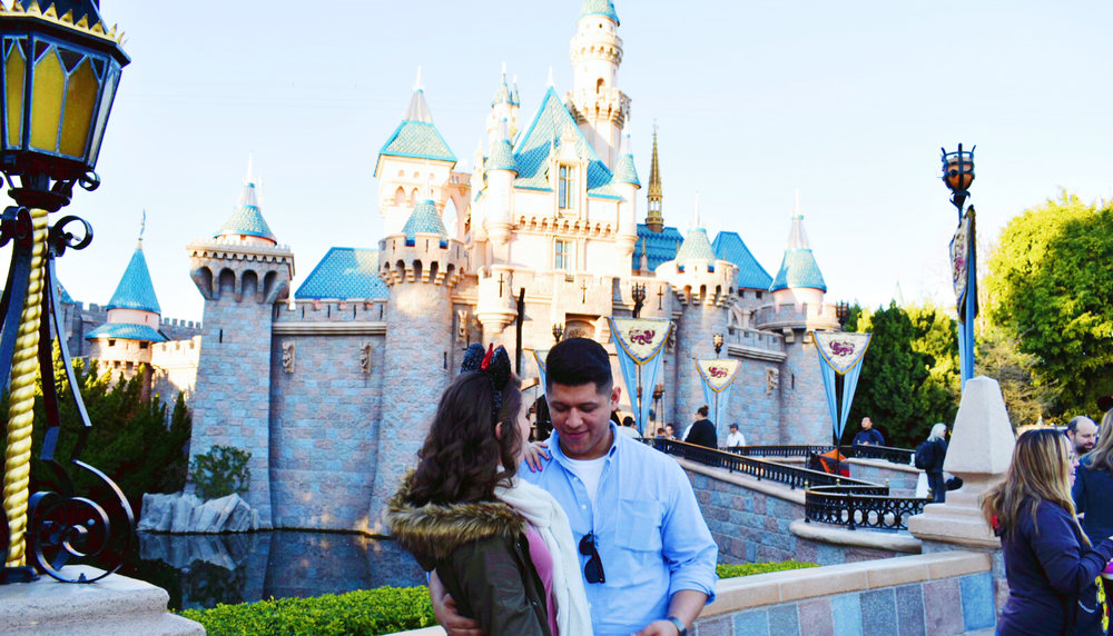 This was taken in January. It had always been my dream to go to Disneyland and it always been my dream to go with Edwin. I don't think he'll ever understand how much it meant for me to be there with him - even if he had to leave early.