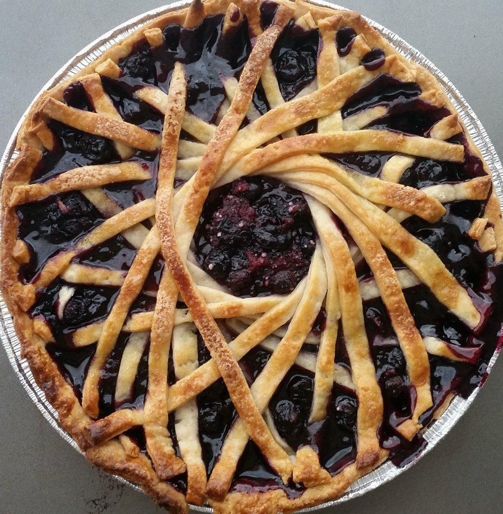 August 2018's Dessert of the month! - Blueberry Pie