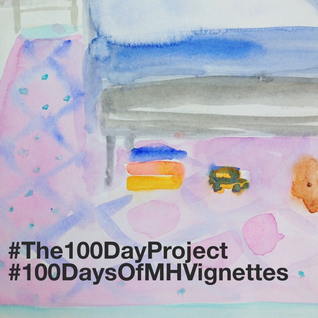 Marissa-Huber-The100DayProject-Watercolor-Interiors