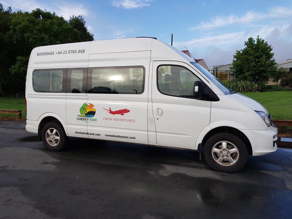 Bus Hire Cheeky Kiwi