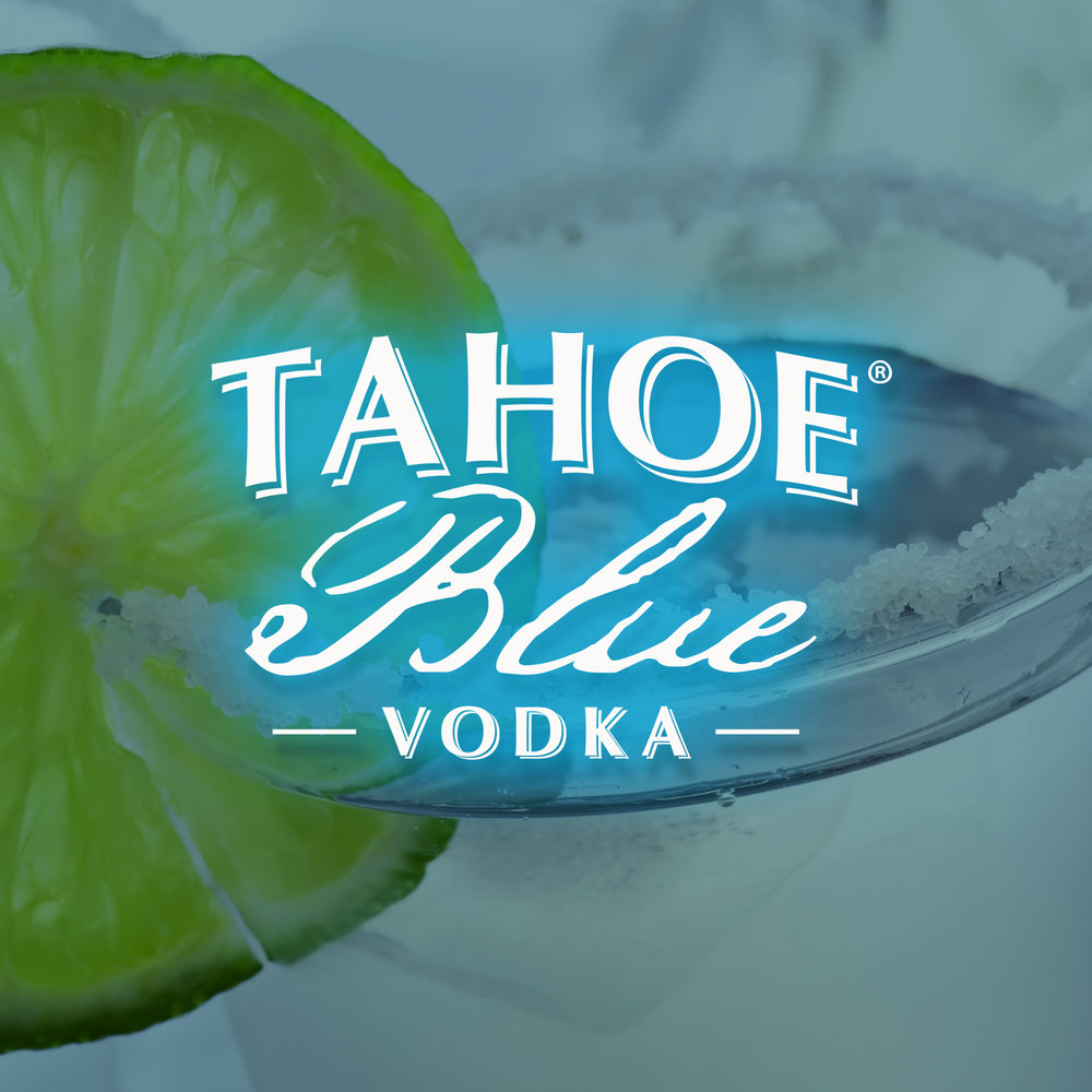 Tahoe Blue Tahoe Blue, the official vodka sponsor at City of Trees! Be sure to try this tasty, local & award-winning vodka in a Tahoe Mule or Lemonade.