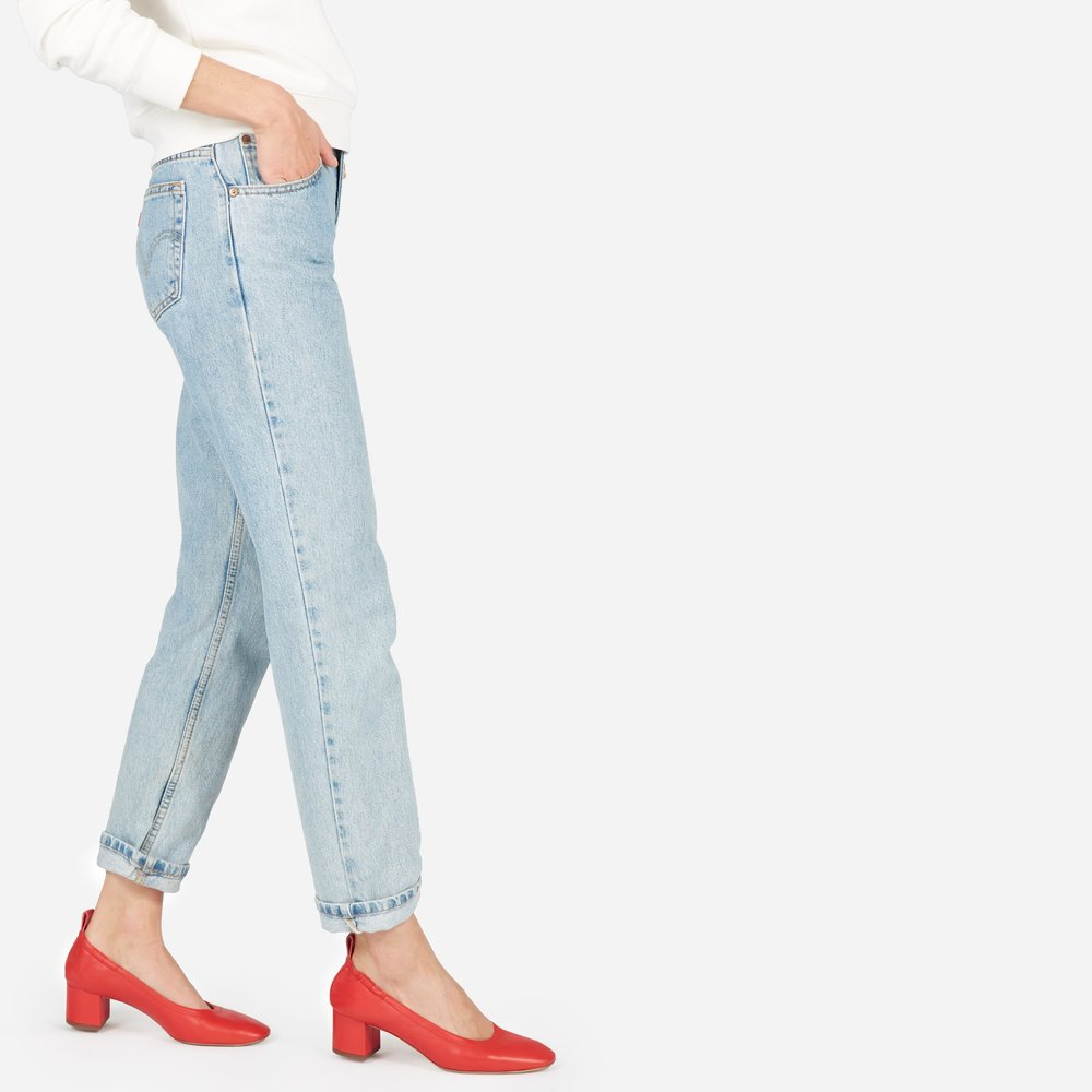 Everlane The Day Heel I will live and die in these heels, I mean just look at them.