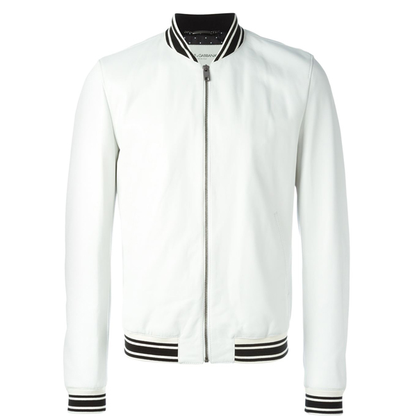 Dolce & Gabbana Classic Varsity Jacket  (Sold Out) $995