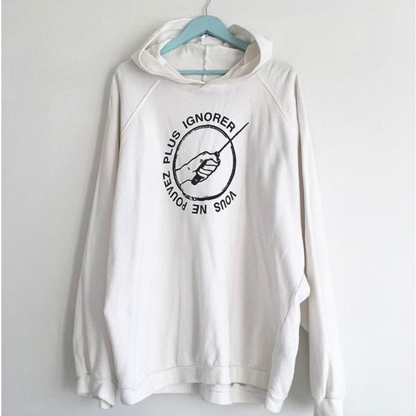 Raf Simons Vous ne pouvez plus ignorer sweater (Sold Out)