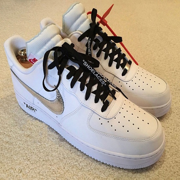 Off-White X Nike Air Force 1 Sneakers (Unrealeased)