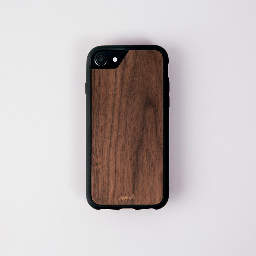 Walnut iPhone Case Protective Mous Case
