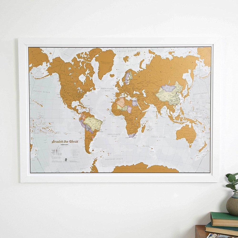 Scratch Off World Map $ 28